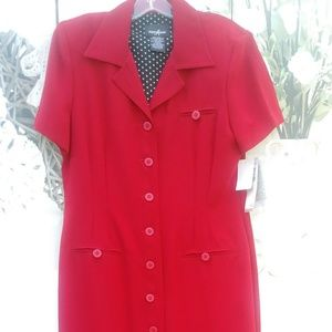 Red Dress by Positive Attitude NWT $69.00
